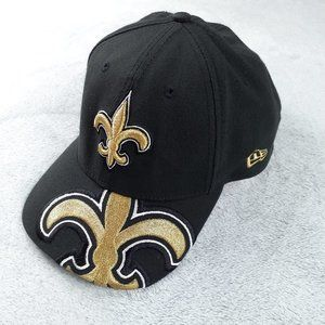 New Era NFL New Orleans Saints ⚜ Black Cap M - L